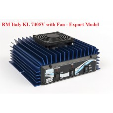 RM Italy KL 7405v HF Linear Amplifier with Fan - Export Model