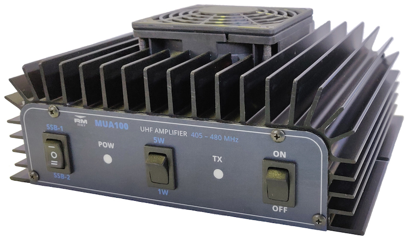 RM Italy MUA 100 UHF 405 -480 Mhz Linear Amplifie